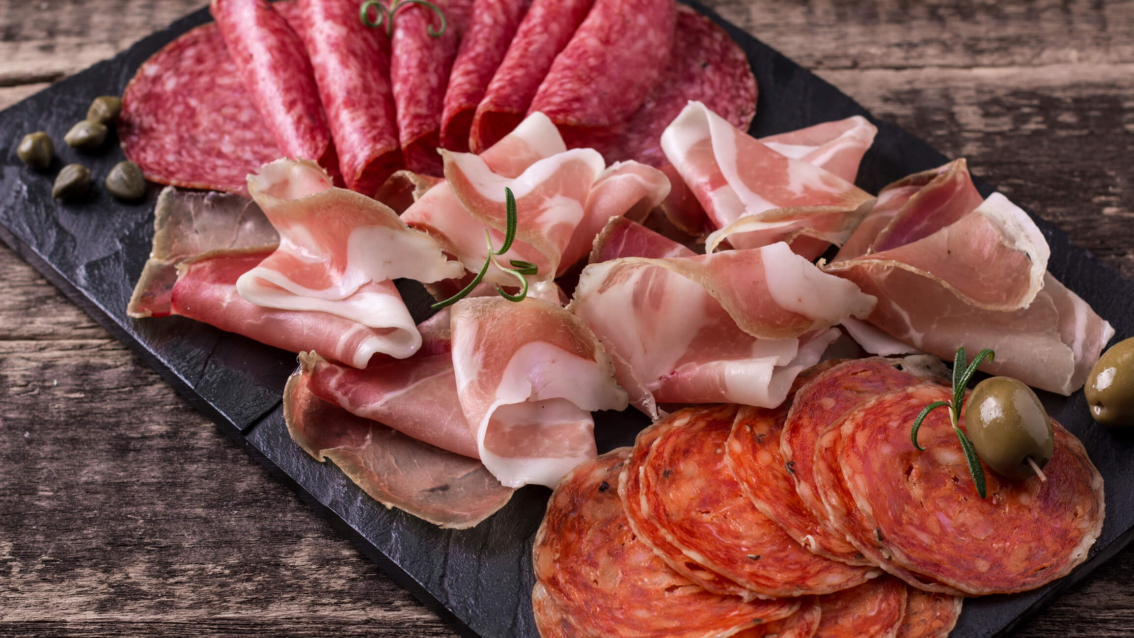 Cold cuts, meat platter