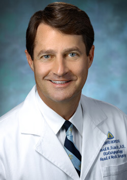 David W. Eisele, M.D., F.A.C.S.  Andelot Professor and Director  Otolaryngology–Head and Neck Surgery