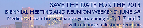 Save the date for Biennial Meeting 2013