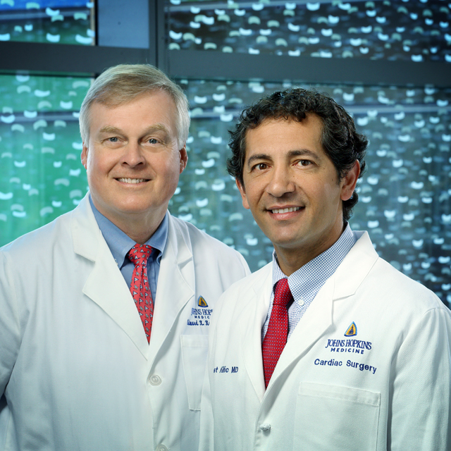 This is a headshot of Dr. Kasper and Dr. Kilic