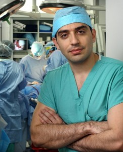 Kidney transplantation surgeon Mohamad Allaf