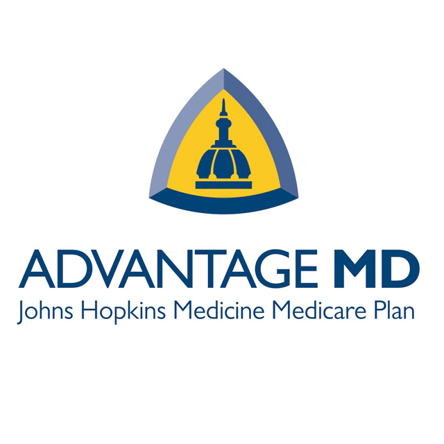 An image of the logo for the Johns Hopkins HealthCareMedicare Advantage health care plans