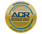 American College of Radiology Gold Seal of Accreditation for Mammography