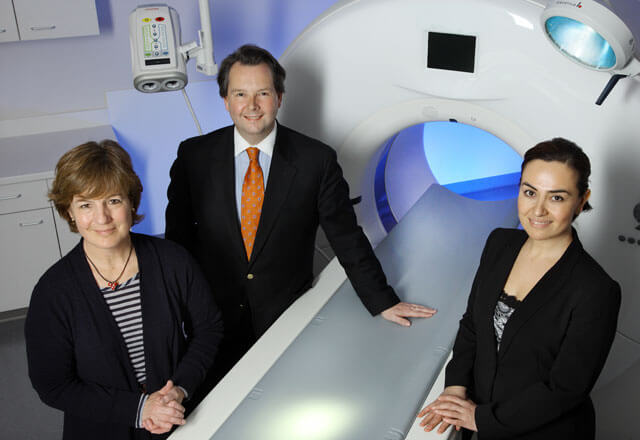 Pediatric Radiology doctors stand by the advanced equipment they use to better understand pediatric diseases