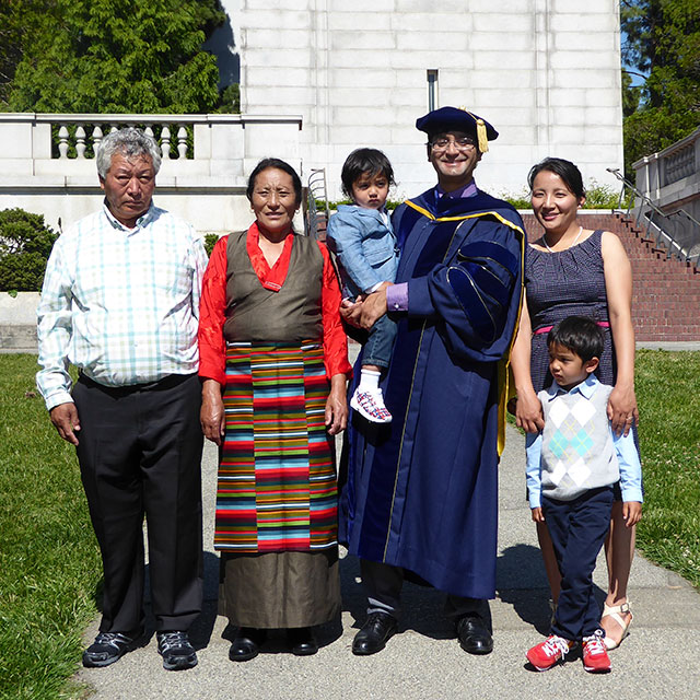 Dorjee and family