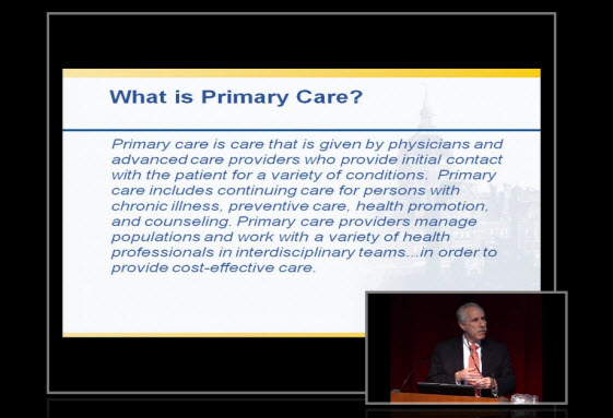A Shift in Primary Care