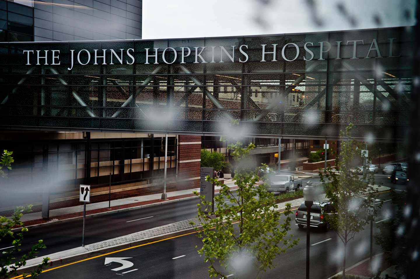 Across Orleans Street, a bridge leads to the future of patient- and family-centered care at Hopkins.