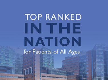 Image stating: Johns Hopkins Top Ranked by U.S. News & World Report