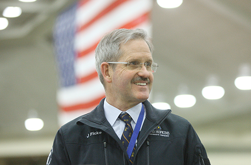 James Ficke, M.D., who commanded an Army hospital in Mosul, Iraq, will direct the joint effort.