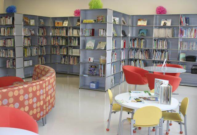 Children's library family resource center