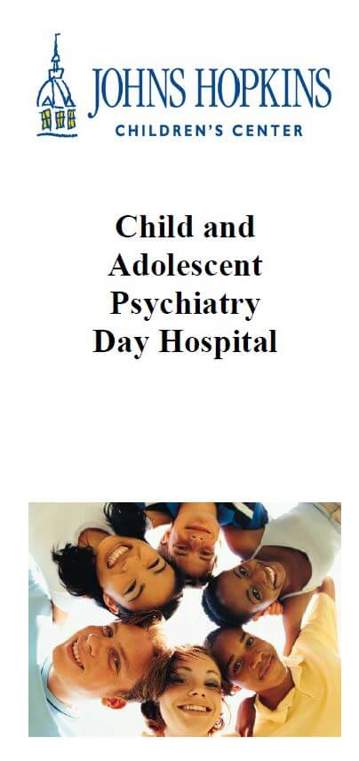 Child and Adolescent Psychiatry Day Hospital Brochure