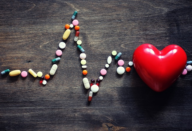 Pill supplements in form of monitored heartbeat.