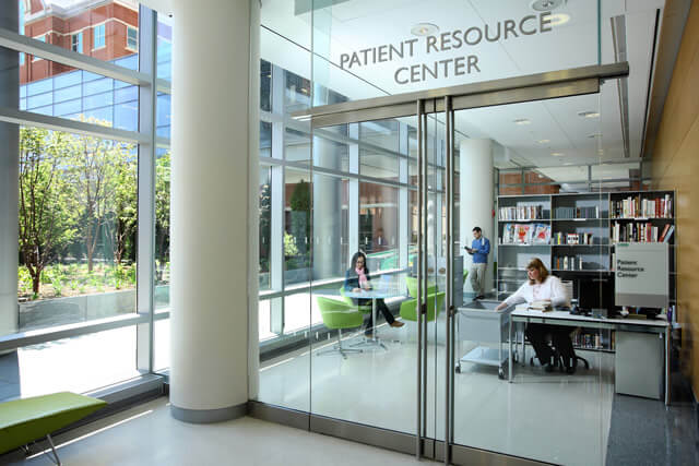 An image of the Patient Resource library