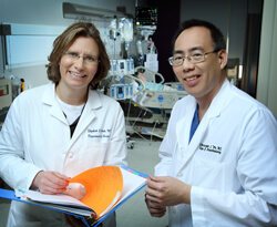 With ERAS, Elizabeth Wick and Christopher Wu hope to decrease hospital stays and improve patients' experiences.