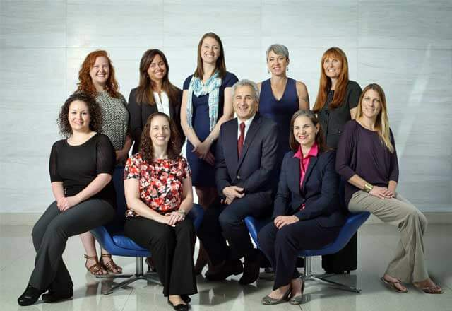 Center for Fetal Therapy care team