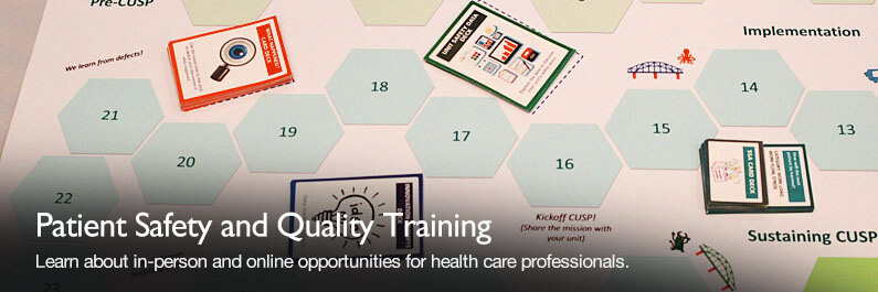 Learn about in-person and online opportunities for health care professionals
