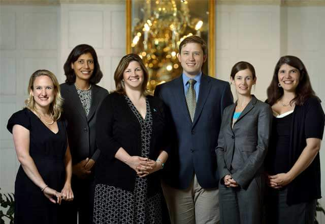 the gynecologic oncology team members