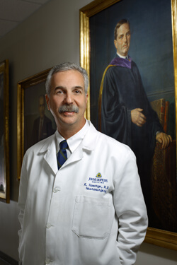 Rafael Tamargo is the Walter E. Dandy, M.D. Professor in the Johns Hopkins Department of Neurosurgery.