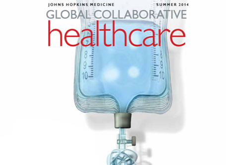 global collaborate healthcare magazine cover
