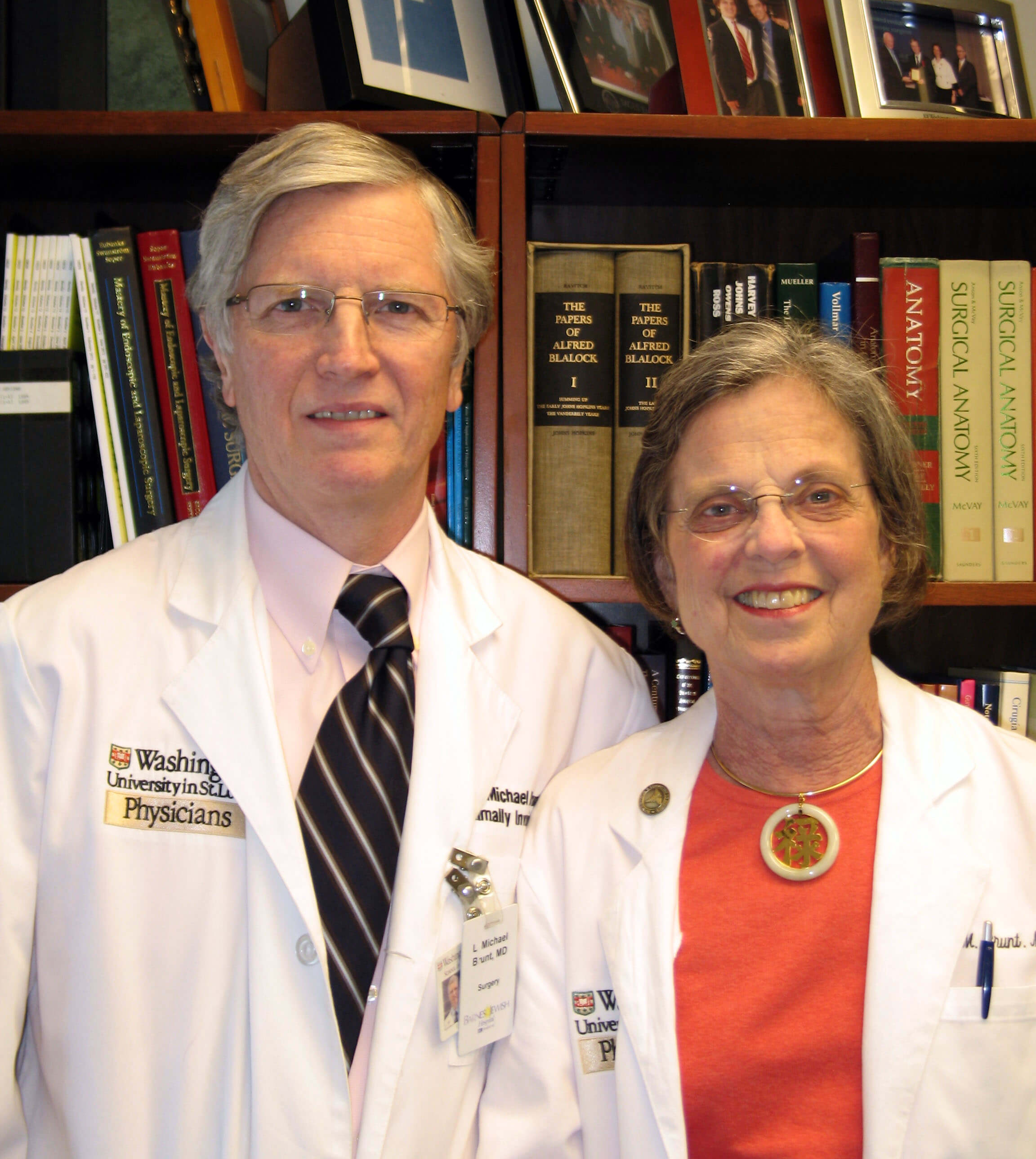 Drs. Michael and Elizabeth Brunt