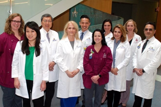 The Dry Eye clinic team at the Wilmer Eye Institute