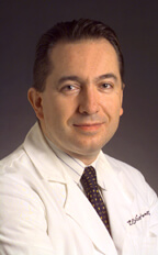 Vassilis E. Koliatsos, M.D., an associate professor of Pathology (Neuropathology), Neurology and Psychiatry and Behavioral Sciences, Johns Hopkins University School of Medicine.