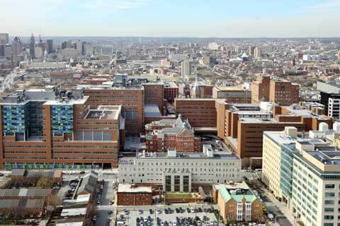 the johns hopkins hospital exterior