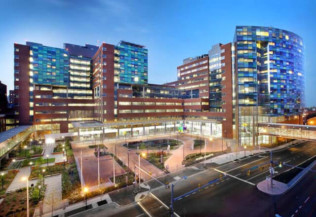 Johns Hopkins Hospital Location Image