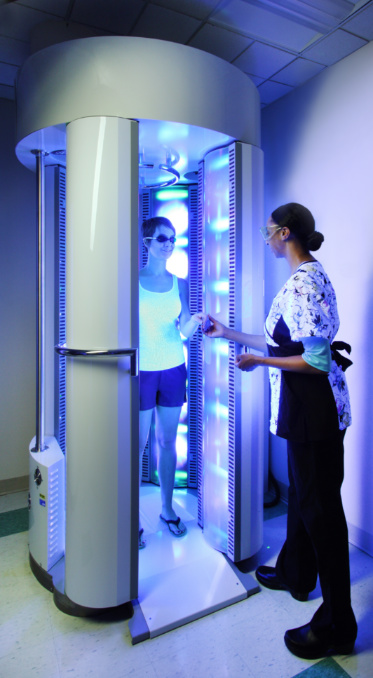 Phototherapy at Johns Hopkins