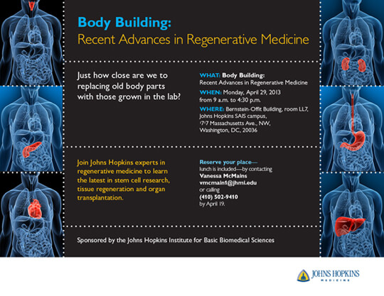 Body Building Recent Advances In Regenerative Medicine