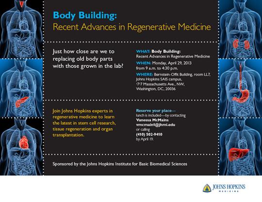 body building  recent advances in regenerative medicine
