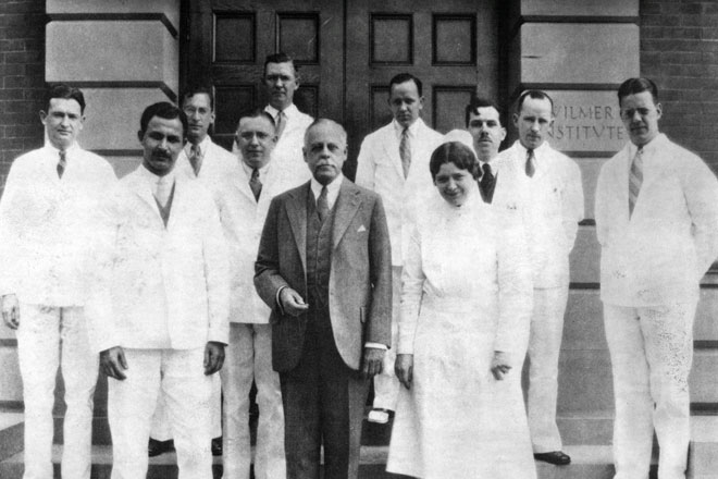 Wilmer Ophthalmological Institute residents and interns, 1929-1930.