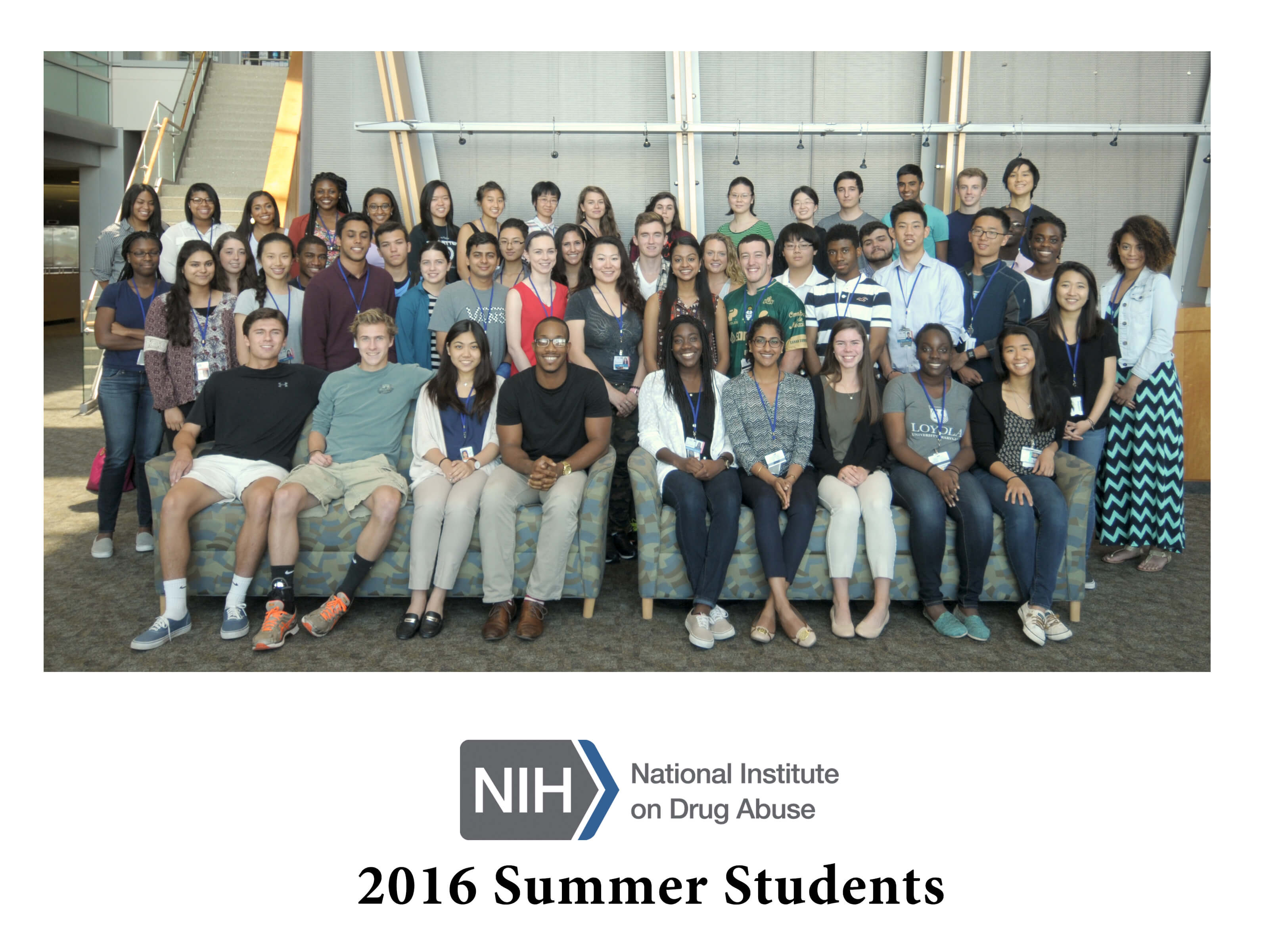 NIDA 2016 Summer Students group photo