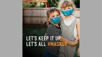 Newsroom Mask Up campaign