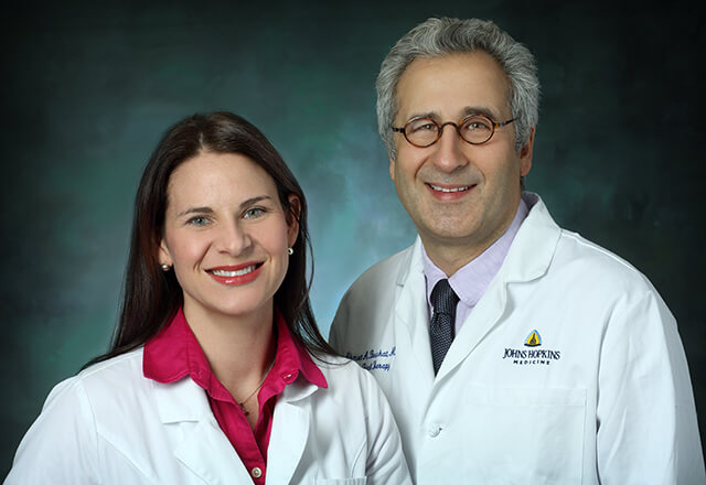 Drs. Jena Miller and Ahmet Baschat