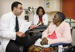Victor Urrutia and Brenda Johnson believe that spending more time with stroke patients can reduce the risk of subsequent strokes.