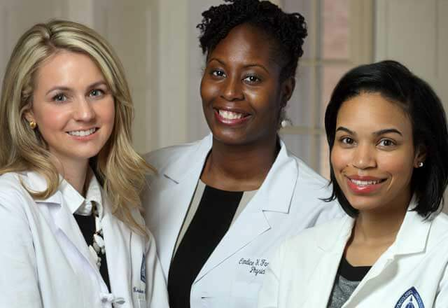 group of nurses and physician assistants