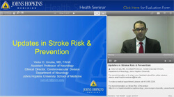 thumbnail image of the stroke seminar presentation