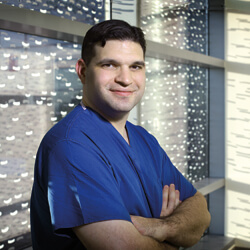 Cardiac surgeon Christopher Sciortino