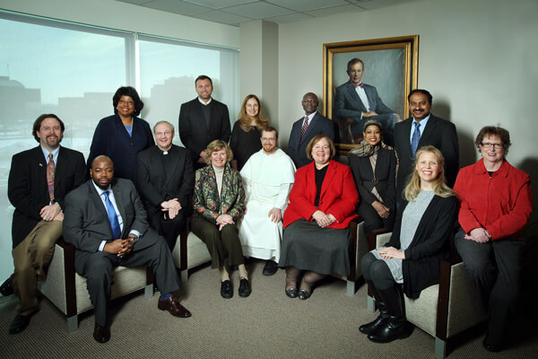 Group photo of Johns Hopkins Bayview Medical Center chaplains