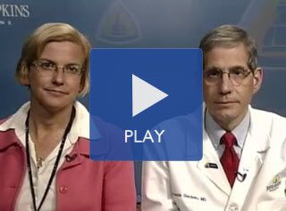 Drs. Giardiello and Gearhart presenting webinar. Click to play