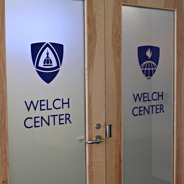 The Welch Center