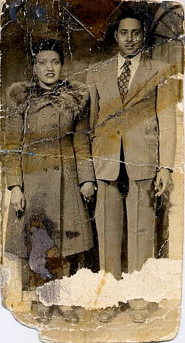 Henrietta Lacks and her husband