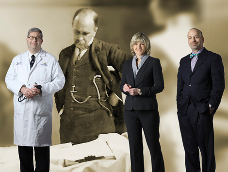 Drawing on the legacy of William Osler, Johns Hopkins Hospital's first head of medicine, John Flynn, Maura McGuire and Steve Kravet are among the leaders of an effort to bring primary care to the fore.