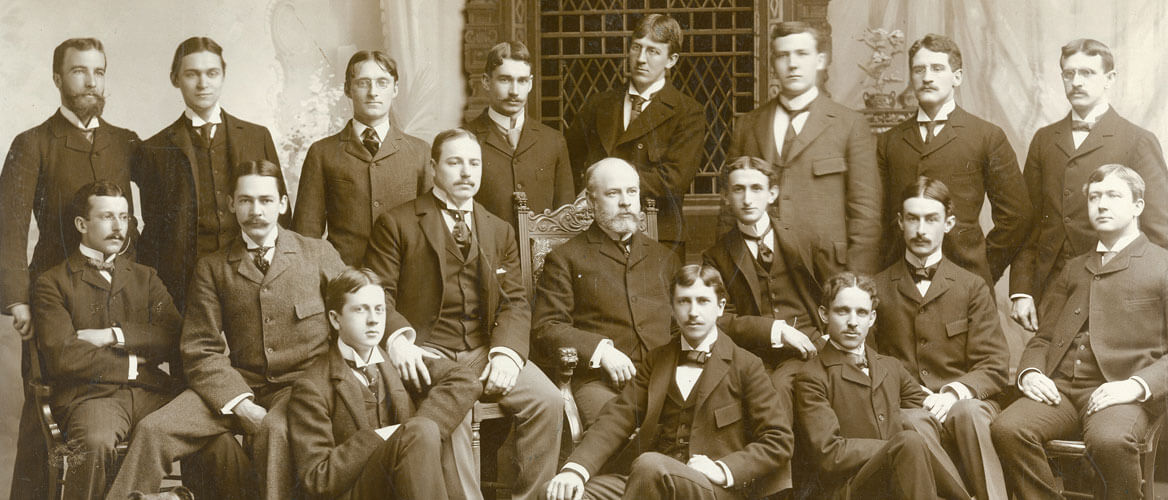 Johns Hopkins first medical school class 1897