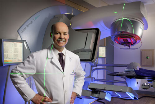 Theodore DeWeese, M.D., director of the Department of Radiation Oncology and Molecular Radiation Sciences.