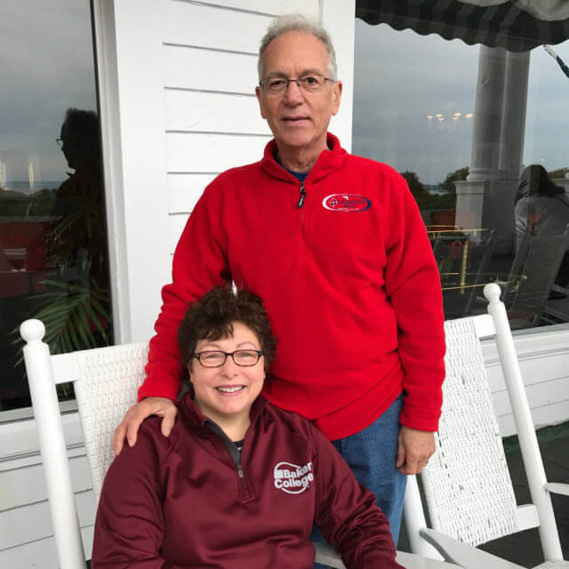 Mollie and Rick in Mackinaw