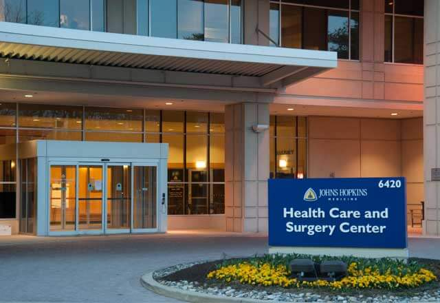 Johns Hopkins Health Care and Surgery Center in Bethesda