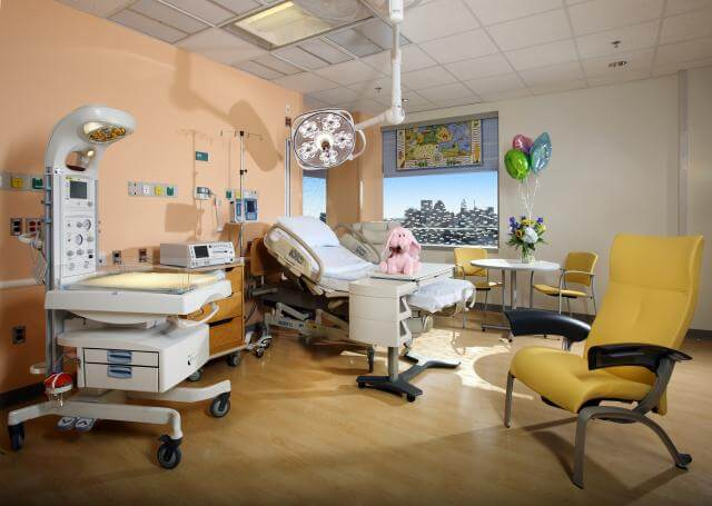 labor and delivery room design