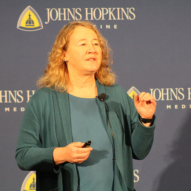 Event Connects Science Writers, Johns Hopkins Research